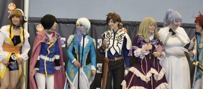 Concours de cosplay le 3 juillet à Japan Expo.
