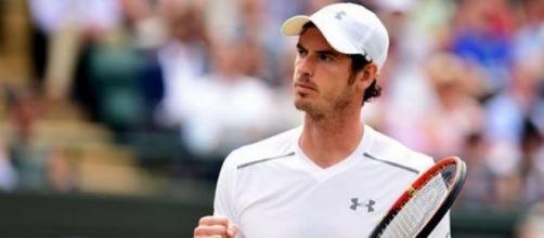 Andy Murray a Wimbledon 2015