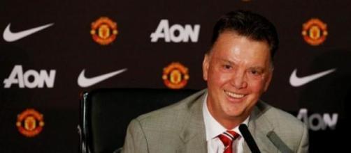 Il tecnico del Manchester United, Van Gaal