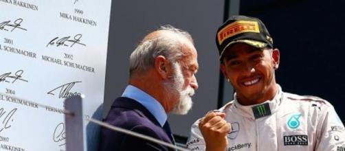 Lewis Hamilton took his fifth Grand Prix victory