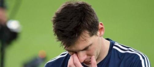 Messi no puede consagrarse con Argentina
