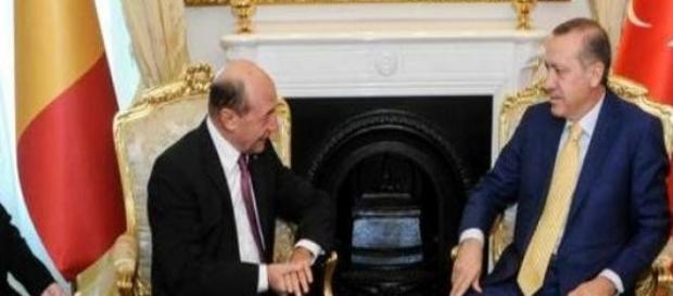 Amnezicul Băsescu și premierul Erdogan în 2014