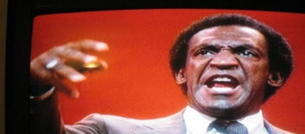 Comic Bill Cosby in his earlier days