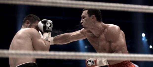 Klitschko's right hand is a dangerous weapon