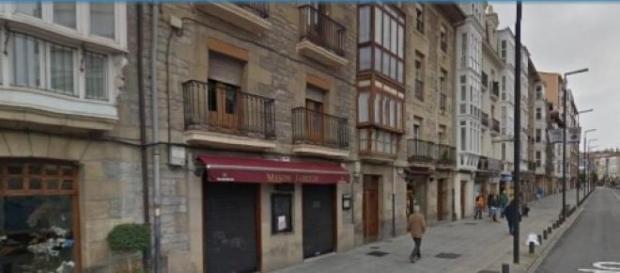 La calle Prado de Vitoria-Gasteiz