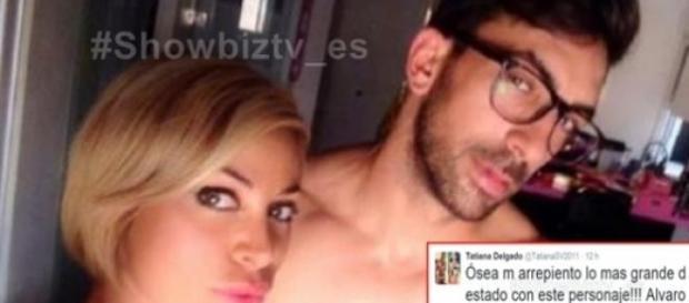 Tatiana junto a Álvaro en sus mejores selfies