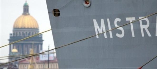 Navire porte hélicoptère Mistral