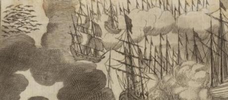 Le 'navi aeree' del libro di Erasmus Francisci.