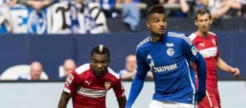 Boateng during a game vs. VfB Stuttgart