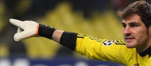 Iker Casillas, guarda redes do Real Madrid