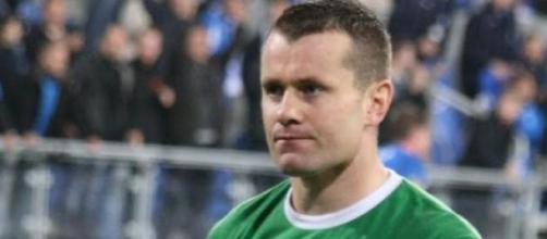 """Shay Given"" by Roger Gorączniak"
