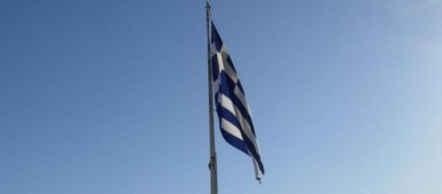 Bandiera greca - Foto di Marina Zini