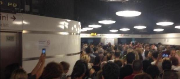 Caos nella Metro a Roma e sciopero del 10 luglio
