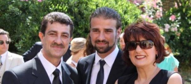Mario Biondo ed i genitori Santina e Pippo