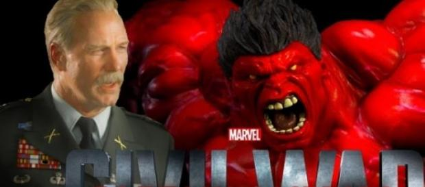 Red Hulk esta más cerca que nunca