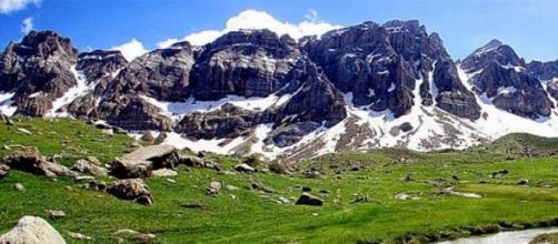 Almodovar impresionado por la belleza del Pirineo