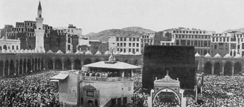La ciudad de La Meca en el año 1910