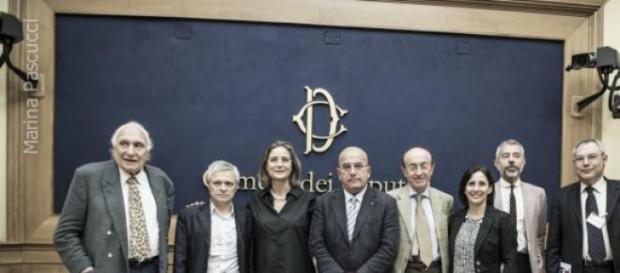 """Conferenza stampa """"Turchia in Europa da subito""""."""