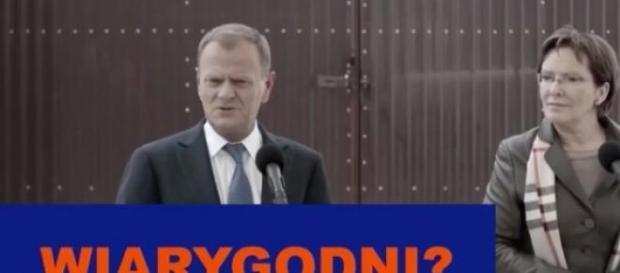 """Kard ze spotu PiS """"Wiarygodność"""""""