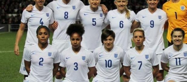 """England Women's Vs USA"" by joshjdss"