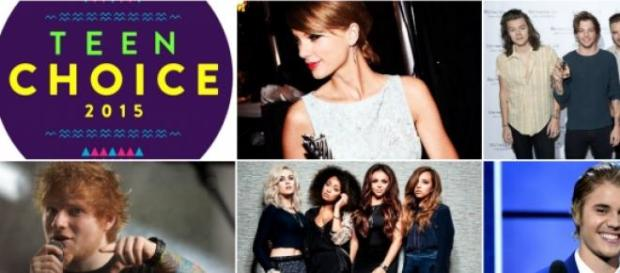Teen Choice Awards 2015 acontece a 16 de Agosto
