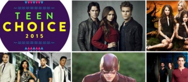 Teen Choice Awards os mais nomeados em Filmes e TV
