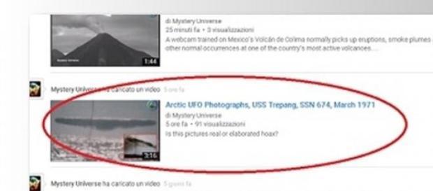 UFO e il mistero dell'Artico su YouTube