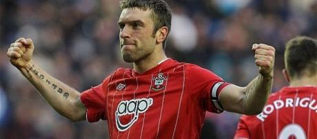 Lambert during his time with Southampton.