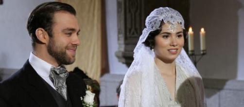 Fernando nel giorno delle nozze