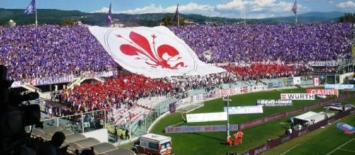 I tifosi della Fiorentina, curva Fiesole