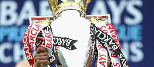 il trofeo della Premier League