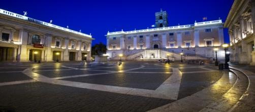 La Piazza del Campidoglio a Roma