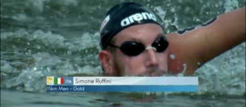 Simone Ruffini vince l'oro nella 25 km a Kazan