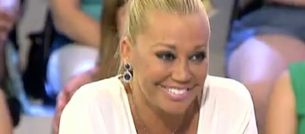 Belén Esteban durante un programa de Telecinco