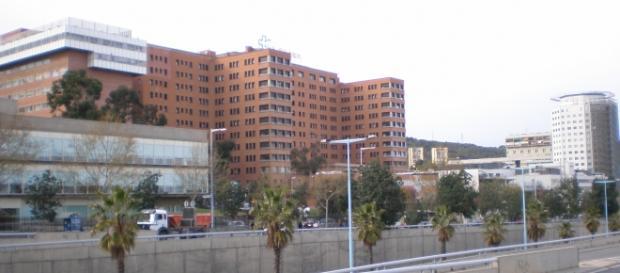 Fachada del hospital Vall D´Hebron de Barcelona