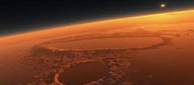 Ripresa spaziale del Pianeta Rosso