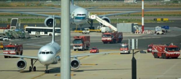 Un Cessna atterra a Fiumicino indisturbato