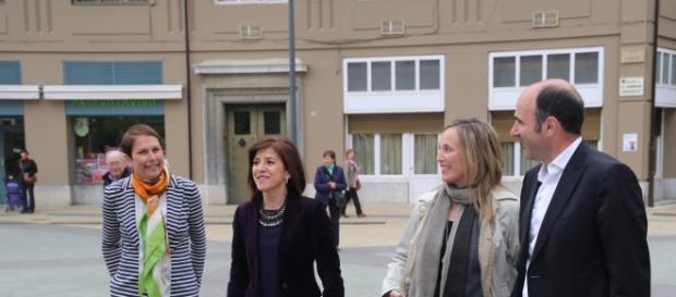 Uxue Barkos, la nueva presidenta de Navarra