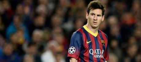 Supercoppa Europea Barcellona-Siviglia, Messi