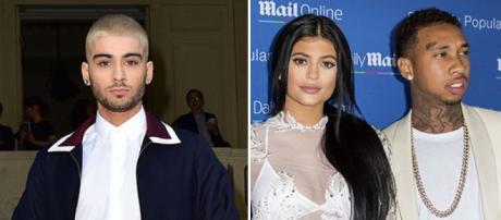 Zayn Malik tem um fraquinho por Kylie Jenner.