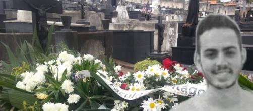 Daniel foi enterrado sob forte comoção