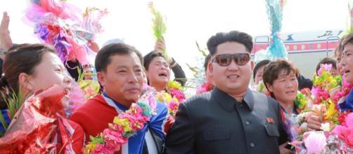 Leader della Corea del Nord Kim Jong Un