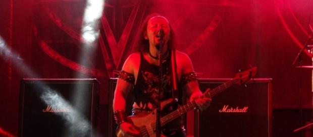 Cronos - baixista e vocalista dos Venom