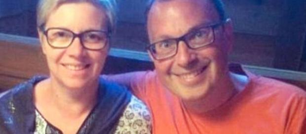 David y Ornella Steiner, padres de Enzo