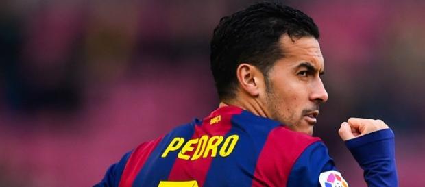 Pedro tendrá su gran chance ante el Sevilla
