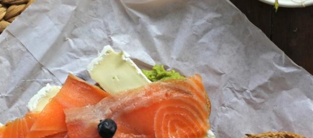 Salmón y Arándanos una mezcla apetitosa