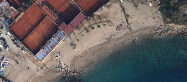 Spiaggia Circolo del Tennis e della Vela a Messina