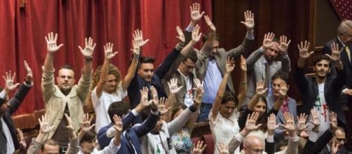 I parlamentari del Movimento 5 Stelle