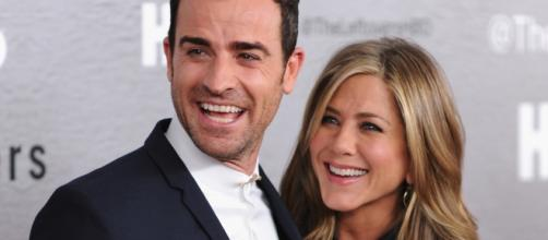 Los actores Jennifer Aniston y Justin Theroux