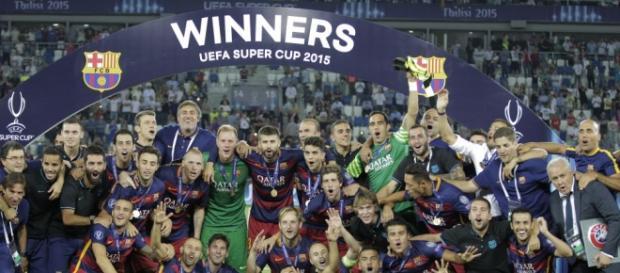 Barcelona campeón de la Supercopa UEFA 2015
